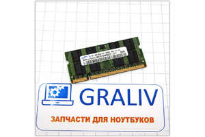 в продаже оперативная память для ноутбука SO-DIMM DDR2 6400 2GB Samsung