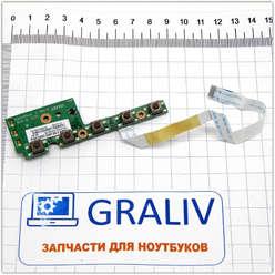 Плата управления ноутбука Asus N61D 60-NZZIK1000