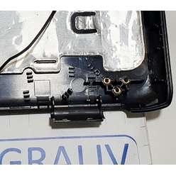 Крышка матрицы ноутбука Samsung R510, R505, R507, R509, BA75-02020A, BA81-04575A