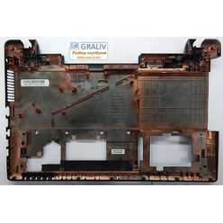Нижняя часть корпуса, поддон ноутбука  Asus X55 X55U 13GNBH2AP032-1 4AXJ3BCJN00