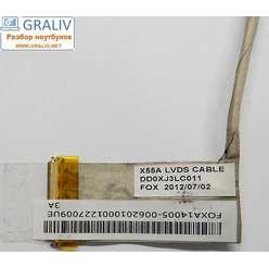 Шлейф матрицы ноутбука  Asus A55 F55 K55 U57   X55 14005-00620000 X55A LVDS CABLE