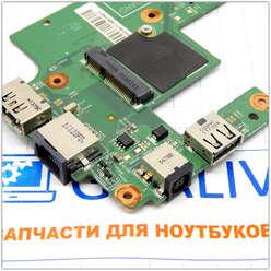 Плата расширения USB с разъемом питания ноутбука Dell Inspiron M5010 48.4HH20.011