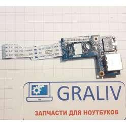 Доп. плата USB и LAN ноутбука Lenovo Z570 Z575 B570 B575 48.4PA05.02M