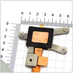 Система охлаждения ноутбука серии DV7-4000, DV6-3000, 3MLX9TATP20, 622029-001