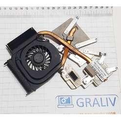 Cистема охлаждения для ноутбука Hp Dv6 Dv6-1000 532613-001, FPTUT134D205593C