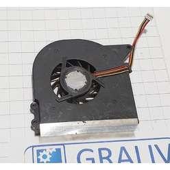 Вентилятор системы охлаждения, кулер ноутбука Asus X51, X58, 1015PN, UDQFLZH05DA 4 pin