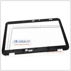 Рамка безель матрицы ноутбука Dell Inspiron N5010, M5010 60.4HH10.022 058JM7