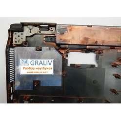 Нижняя часть корпуса, поддон ноутбука Asus N53T 13GN1Q5AP010