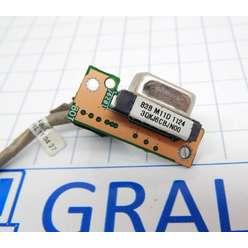 VGA разъем на кабеле ноутбука Asus N53T  60-N4SCT1000 DD0KJ6PC000
