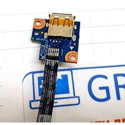 Плата c разъем sub ноутбука Lenovo G780 LS-7987P