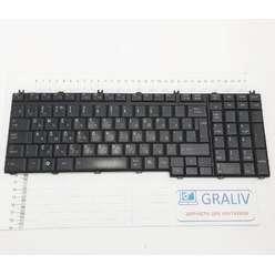 Клавиатура для ноутбука Toshiba Satellite A500 F501 P505 L500 L550 6037B0027908
