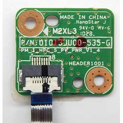 Плата включения, кнопка старта ноутбука HP G62 01013JU00-575-G