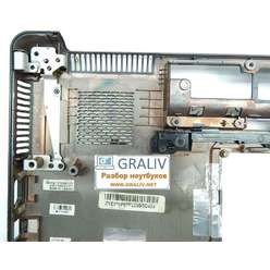 Нижняя часть корпуса, поддон ноутбука Compaq Presario CQ61 ZYE370P6