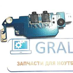 Доп плата с аудио разьемом ноутбука Samsung SF511, BA92-07506A