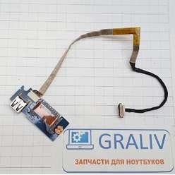 Доп плата USB, картридер ноутбука Samsung NP530/NP530U4B-S01RU BA92-09694A