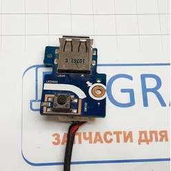 Кнопка старта + USB разъём ноутбука Samsung R425, R428, R430, R480, BA92-06023A