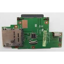 Плата card reader с разъемами SATA для ноутбука Asus K50C  60-nvkcr1000-d03