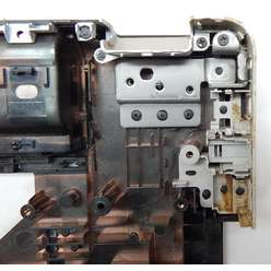 Нижняя часть корпуса, поддон ноутбука HP G62 610565-001