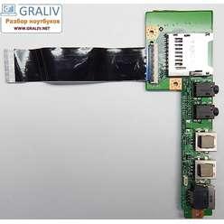 Плата расширения USB ноутбука MSI U160