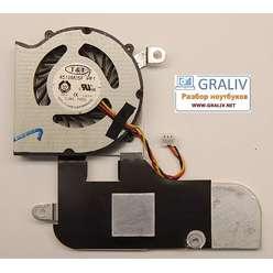 Система охлаждения ноутбука MSI U160 4510M05F PF1 E320800