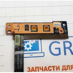 Плата включения, панель, кнопка старта ноутбука Lenovo G780 G570 G575 LS-6753P