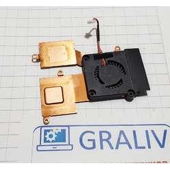 Система охлаждения для ноутбука Asus 1005HA, 13NA-2BA1001