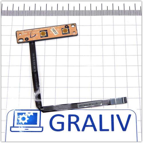 Кнопка старта, включения ноутбука Lenovo G580 QIWG5/QIWG6 LS-7983P