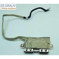 USB разъемы на шлейфе ноутбука  Asus K50 14g140279010