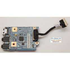 Плата расширения USB, аудио ноутбука B570 48.4PA04.01M