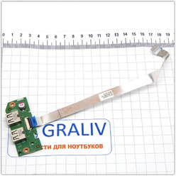 Плата расширения USB ноутбука DELL Inspiron  M5040 N4050 N5040 N5050 48.4IP20.011