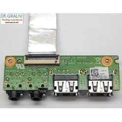 Плата расширения USB, аудио ноутбука Asus K53SD K53SD IO BOARD