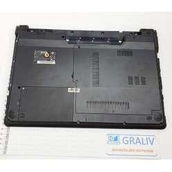 Нижняя часть корпуса, поддон ноутбука DNS 118740, 118742, 6-42-С4803-103