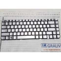 Клавиатура ноутбука HP DV4-1000, 486901-251, PK1303Y0460