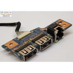 USB плата расширения для ноутбука Packard Bell MS2288 TJ75 48.4BU02.01M