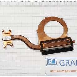 Радиатор системы охлаждения, термотрубка ноутбука Samsung NP370R4E, NP370R5E, NP510R5E NP450R5E NP470R5E, BA62-00797A, 0012135101