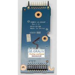 Плата подключения аккумулятора, переходник ноутбука Packard Bell EN TE69 LS-9533P