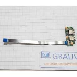 Доп. плата с разьемами usb ноутбука Asus X750, X750DP_IO Board