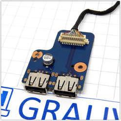 Планка расширения USB  ноутбука Samsung NP-RC530 BA92-08701A