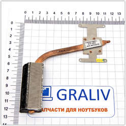 Система охлаждения, трубка охлаждения для ноутбука Asus F3T 13GNI41AM020-1