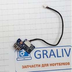 Доп. плата с разьемом usb ноутбука Samsung R700, R710, BA92-04768A