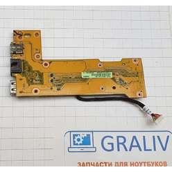 Плата расширения ноутбука  Asus K42 IO Board rev2.0 60-N9I01000-B01