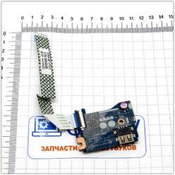 USB плата расширения + кнопка включения ноутбука Acer Aspire E15 (es1-511) Z5W1M LS-B471P