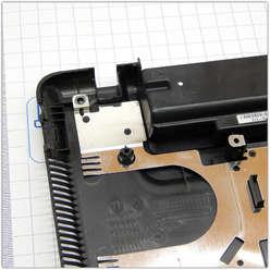 Нижняя часть корпуса, поддон ноутбука Sony VAIO VGN-NW2MRE/P  PCG-7181V  012-021A-1370