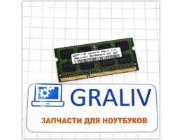 Оперативная память ноутбука SO-DIMM DDR3 2GB Samsung