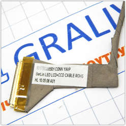 Шлейф матрицы ноутбука Toshiba Satellite C650, C655, C655D 6017B0265501