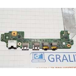 Доп. плата USB, AUDIO, LAN, кнопка включения ноутбука ASUS Eee PC 1215B 69NA3CB12D02