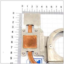 Трубка, радиатор охлаждения ноутбуку HP ProBook 4510S, 4515S 535859-001