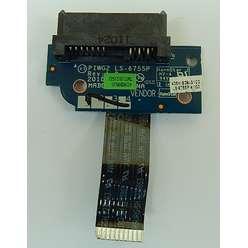 Плата SATA для привода оптических дисков DVD LS-6755P для ноутбука  Lenovo G570 G575