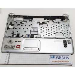 Верхняя часть корпуса, палмрест ноутбука HP Compaq Presario CQ60, 496831-001