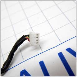 USB разъем на шлейфе ноутбука Lenovo G575, G570, G560, G565, Z560, Z565 DC301009H00